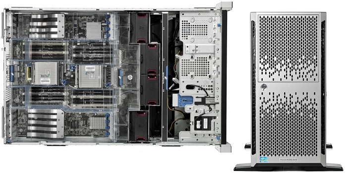 HP Proliant ML 350p Gen8