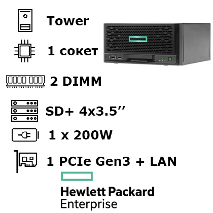 HPE ProLiant MicroServer Gen 10 Plus