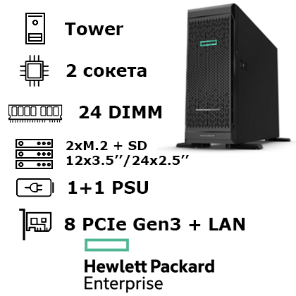 HPE ProLiant ML350 Gen10